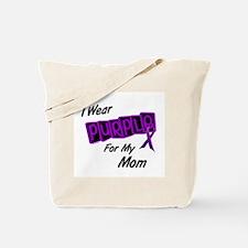 I Wear Purple 8 (Mom) Tote Bag