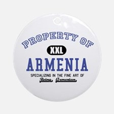 Property of Armenia Ornament (Round)