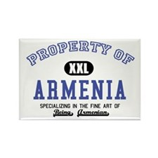 Property of Armenia Rectangle Magnet