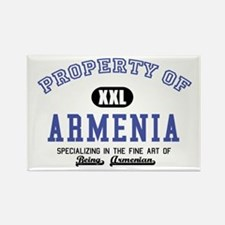 Property of Armenia Rectangle Magnet