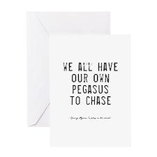 Pegasus Quote Greeting Card