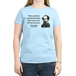 Charles Dickens 22 Women's Light T-Shirt