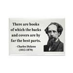 Charles Dickens 22 Rectangle Magnet