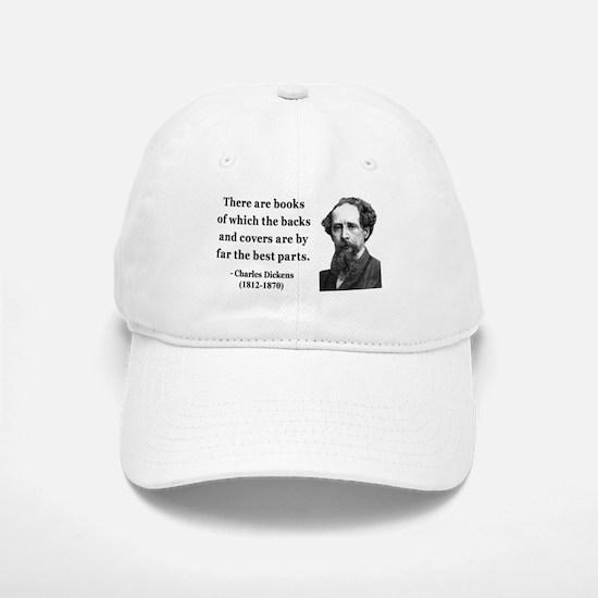 Charles Dickens 22 Baseball Baseball Cap