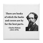 Charles Dickens 22 Tile Coaster