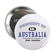 """Property of Australia 2.25"""" Button"""