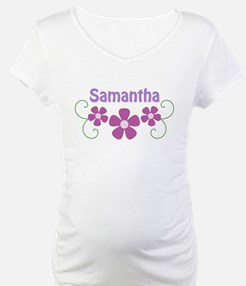 Samantha Pink Flowers Shirt