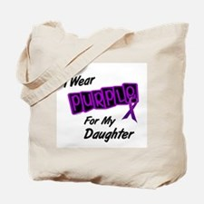 I Wear Purple 8 (Daughter) Tote Bag