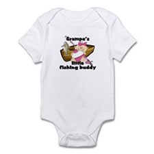 Grampa's Fishing Buddy Infant Bodysuit