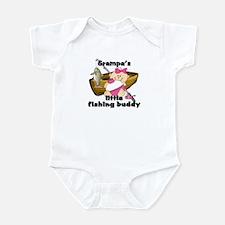 Grampa's Fishing Buddy Infant Bodysuit