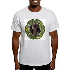 Grizzly Bear Cub Ash Grey T-Shirt