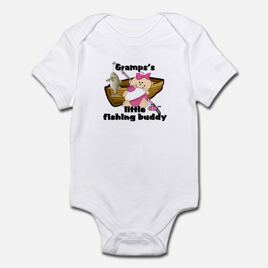 Gramps's Fishing Buddy Infant Bodysuit