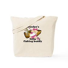 Grandpa's Fishing Buddy Tote Bag