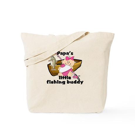 Papa's Fishing Buddy Tote Bag