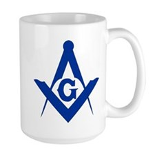 Masonic Square and Compass Mug