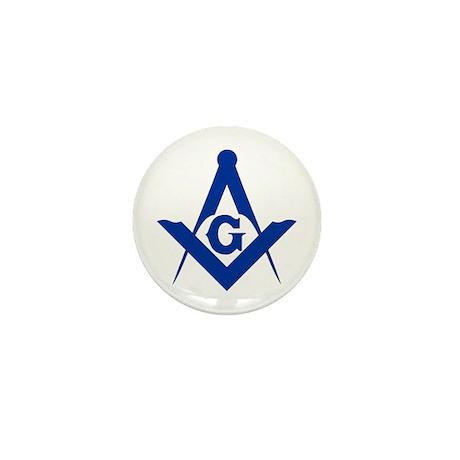 Masonic Square and Compass Mini Button (10 pack)