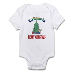 Christmas Tree Infant Creeper