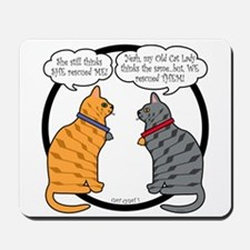 CAT CHAT 1 Mousepad