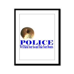 Donut Framed Panel Print
