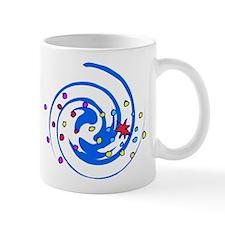 Swirly fireworks Mug