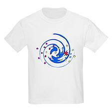 Swirly fireworks T-Shirt