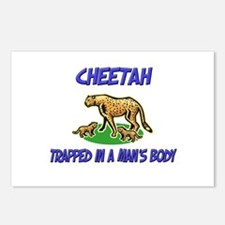 Cheetah Trapped In A Man's Body Postcards (Package