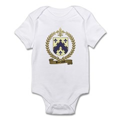 BARIAULT Family Crest Infant Creeper