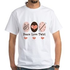 Peace Love Twirl Baton Twirling Shirt