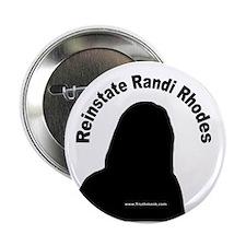"""Reinstate Randi Rhodes 2.25"""" Button (10 pack)"""
