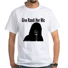 Give Randi Her Mic Shirt