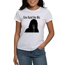 Give Randi Her Mic Tee