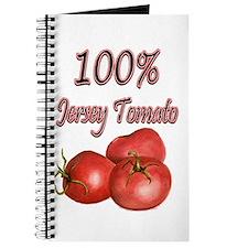 Jersey Girl Jersey Tomato Journal