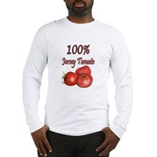 Jersey Girl Jersey Tomato Long Sleeve T-Shirt