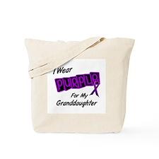 I Wear Purple 8 (Granddaughter) Tote Bag