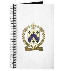 BARILLOT Family Crest Journal