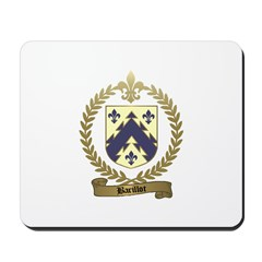 BARILLOT Family Crest Mousepad