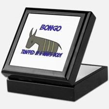 Bongo Trapped In A Man's Body Keepsake Box