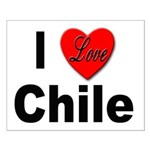 I Love Chile for Chile Lovers Small Poster