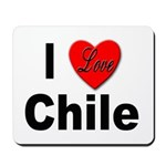 I Love Chile for Chile Lovers Mousepad