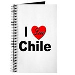 I Love Chile for Chile Lovers Journal