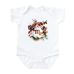 Psychedelic Scorpio Infant Bodysuit