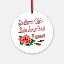 Sensational Memaws Ornament (Round)