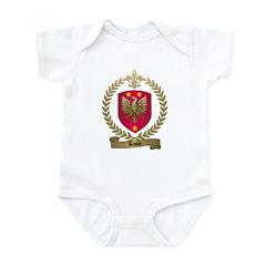 BASILE Family Crest Infant Creeper