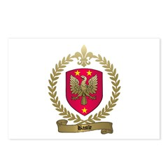 BASILE Family Crest Postcards (Package of 8)