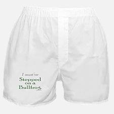 Bullfrog Excuse Boxer Shorts