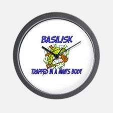 Basilisk Trapped In A Man's Body Wall Clock