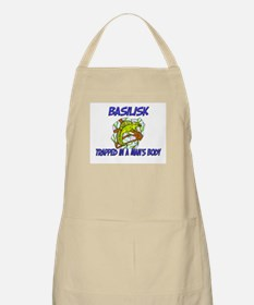 Basilisk Trapped In A Man's Body BBQ Apron