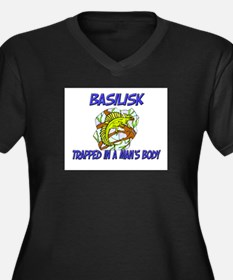 Basilisk Trapped In A Man's Body Women's Plus Size