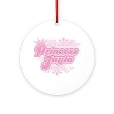 """Princess Jayla"" Ornament (Round)"