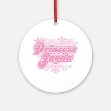 """Princess Jayda"" Ornament (Round)"